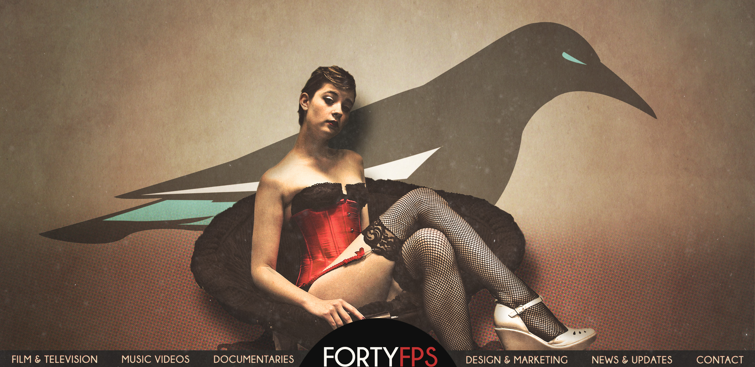 FortyFPS Productions Digital Portfolio For Filmmaker Composer CJ Wallis
